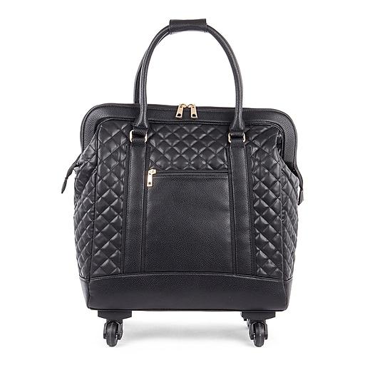 f287d058e39 Bugatti Ladies Tote Bag on Wheels, Black (LBZW1703-BLACK).  https   www.staples-3p.com s7 is