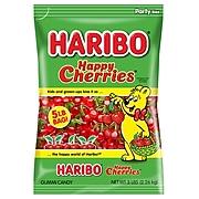 Haribo Happy Gummi Cherries; 5 lb. Bulk