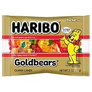 Haribo Gold-Bears in Peg Bag; 2 oz., 24 Packs/Order