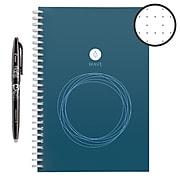 "Rocketbook Wave Smart Reusable Notebook, 6"" x 8.9"", Dotted Ruled, 40 Sheets, Blue (WAV-E-K-A)"