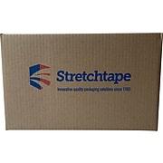 """3"""" x 1000', 80 Gauge Banding Stretch Wrap, Yellow, 18/Carton (46078)"""