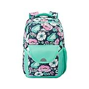 High Sierra Ollie Lunch Kit School Backpack, Floral Indigo Blue (138583-6531)