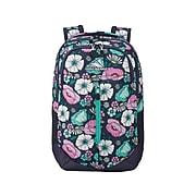 High Sierra Swerve Pro School Backpack, Floral Indigo Blue (1303616531)