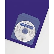 Avery Adhesive Holders for CD/DVD/Zip, Clear Vinyl, 10/Pack (73721)