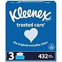 Kleenex Standard Facial Tissue, 2-Ply, 144 Sheets/Box, 3 Boxes/Pack (50219)
