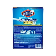 Clorox ToiletWand Disinfecting Refill, 20/Pack (31049)