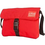 Manhattan Portage Jones Fabric Casual Messenger Bag, Red (1090 RED)