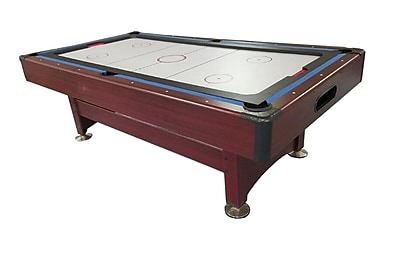 Pool Central 8' Recreational 2-in-1 Pool Billiards and Hockey Game Table (32283735)