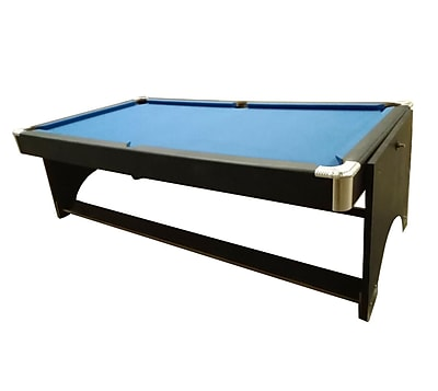 Pool Central 8.5' x 4.3' Recreational 2-in-1 Spin Around Pool Billiards and Table Tennis Game Table (32283732)
