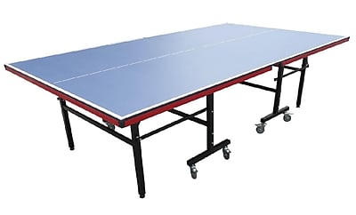 Pool Central 9' Recreational Blue Table Tennis or Ping Pong Game Table (32283736)