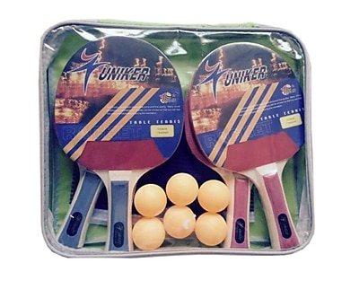 Pool Central Recreational Table Tennis Net Paddles and Balls Game Set (32283737)