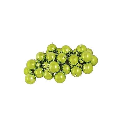 Northlight 12ct Shiny Green Kiwi Shatterproof Christmas Ball Ornaments 4