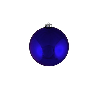 Northlight 12ct Shatterproof Shiny Royal Blue Christmas Ball Ornaments 4