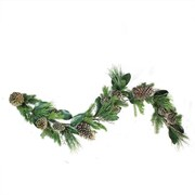 "Northlight 6' x 7"" Monalisa Mixed Pine with Large Pine Cones and Foliage Christmas Garland - Unlit "" (32281568)"