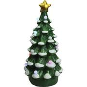 "Northlight 18.25"" Christmas Morning LED Lighted Musical Christmas Tree Tabletop Figure (32260656)"