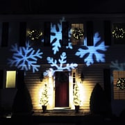 Northlight Outdoor LED Snowflake Christmas Light Projector with Remote Control (32264586)