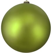 "Northlight Shatterproof Matte Green Kiwi Commercial Christmas Ball Ornament 12"" (300mm) (31755271)"