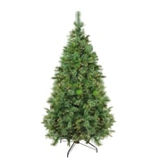 "Northlight 7.5' x 55"" Pre-Lit Cashmere Mixed Pine Full Artificial Christmas Tree - Clear Dura Lights (32265729)"