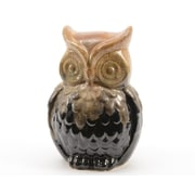 "Kaemingk 6"" Luxury Lodge Porcelain Owl Decorative Christmas Table Top Decoration (31748785)"