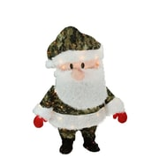"Product Works 32"" Pre-Lit Lane Camo Santa Claus Christmas Yard Art Decoration - Clear Lights (32283120)"