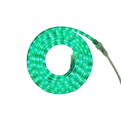 Northlight 12' Green LED Indoor/Outdoor Christmas Rope Lights (32218255)