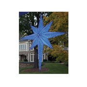 "GKI/Bethlehem Lighting 72"" LED Lighted Blue and Silver Moravian Star Commercial Hanging Christmas Light Decoration (31729549)"