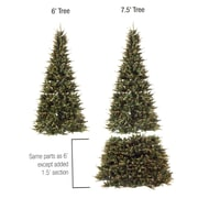 GKI/Bethlehem Lighting 6' - 7.5' Pre-Lit Extend-A-Tree Artificial Christmas Tree - Clear Lights (31093791)