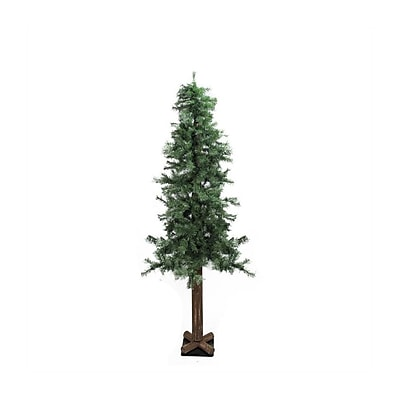 """Allstate 9' x 52"""" Traditional Woodland Alpine Artificial Christmas Tree - Unlit (31733825)"""