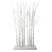 Northlight 4' LED Lighted White Twig Tree Cluster Outdoor Christmas Yard...