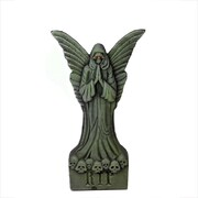 "Northlight 30.5"" Green and Black Lighted Gothic Angel Tombstone Indoor/Outdoor Halloween Decoration (32255975)"
