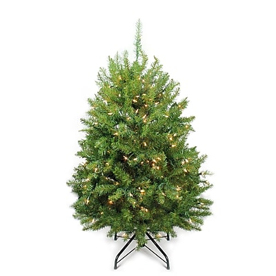 Northlight 4' Pre-Lit Northern Pine Full Artificial Christmas Tree - Clear Lights (31450610)