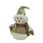 "Northlight 16"" Snowman with Sled and Mistletoe Christmas Decoration (31730421)"