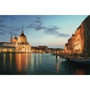 "Northlight LED Lighted Venice City Italy Sunset Scene Canvas Wall Art 15.75"" x 23.5"" (32036473)"
