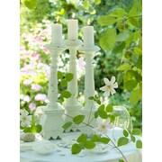 "Northlight LED Lighted Pillar Candles in Garden Canvas Wall Art 15.75"" x 11.75"" (32039535)"