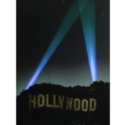 "Northlight LED Lighted Hollywood Sign with Spot Lights Canvas Wall Art 19.5"" x 27.5"" (32255991)"