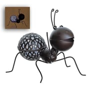 """Select Artificial 11"""" LED Lighted Solar Powered Espresso Brown Crawling Wire Ant Spring Outdoor Garden Solar light (32021360)"""