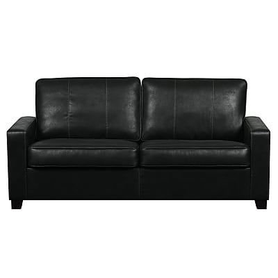 Right2Home Urban Eclipse Faux Leather Two Cushion Sofa (DS-D024-680-044)