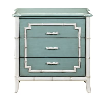 Right2Home Bamboo Trim Drawer Chest 28
