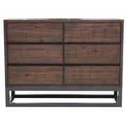 "Right2Home Modern Industrial Drawer Dresser 48""L x 16""W x 35.7""H (DS-D146-003)"