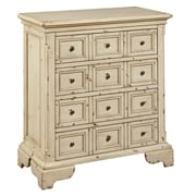"Right2Home White Distressed Drawer Chest 29.5""L x 17.5""W x 32.5""H (DS-P017031)"
