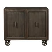 "Right2Home Hyde Two Door Accent Chest with Trolly-Style Wheels 42""L x 16""W x 37.5""H (DS-P006005)"
