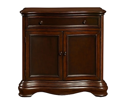Right2Home Brown Two Tone Hall Chest 34.8