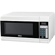 Oster Compact 0.9-Cu.Ft. 900W Countertop Microwave Oven, White (OGCMT309WE-09)
