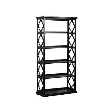 Powell Turner 5 Shelf Bookcase, 36.5