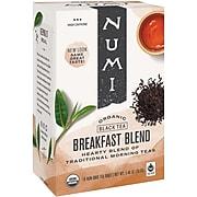 Numi Breakfast Blend Black Tea Bags, 18/Box (878236)