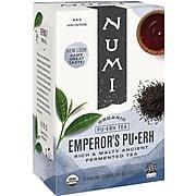 Numi® Emperor's Organic Pu-erh Tea, Higher Caffeine, 16 Bags/Box