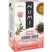Numi Green Tea Bags, 18/Box (447215)