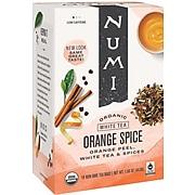 Numi Orange Spice White Tea Bags, 16/Box (10240)