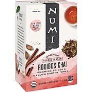 Numi Rooibos Chai Tea Bags, 18/Box (10200)