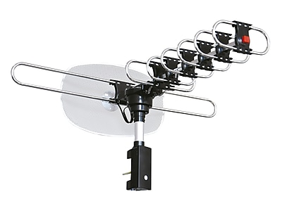 CJ Tech 72257 Digital Outdoor AmplifiedTV Antenna with built in Rotar with upto 62 mile range & upto 28 Db gain